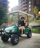 越野型观光车 看房接待车 高尔夫球车 时尚电动四轮车;