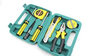 车载维修应急8件套组合装工具箱 汽车必备应急工具;