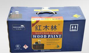 Synthetic paint environmental health wood paint wholesale mahogany wood -M212 light varnish forest