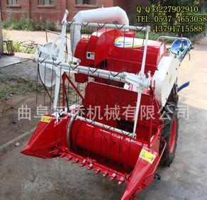 小型稲麥連合コンバイン農業機械稲麥共同刈り取っ機械の粟収穫機