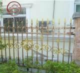 工厂批发工程铁艺建筑护栏 围墙栏杆 厂家直销 铁艺栏杆围;