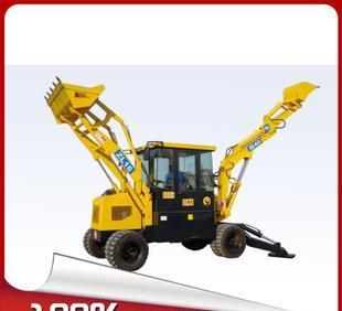 電話を歓迎して新しい工場直販掘削機械WZ40-16油圧多機能タイヤショベル