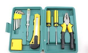 11件套车载维修工具包 汽车应急工具箱组合套装汽车用品备用工具;