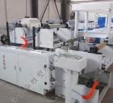 高效节能专利型不干胶标签、商标纸、热敏标签热熔胶涂布机;