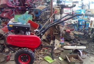 ハウス栽培の野菜溝切り田園管理機機械溝切り機価格