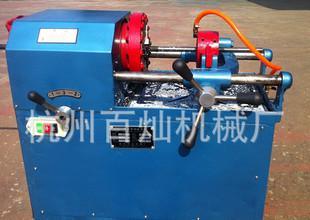 供应螺纹加工机床-百达牌圆钢套丝机;