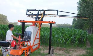植物保護の農業用の大型機械自走式ディーゼル車の新型車下剤下剤折り畳み式