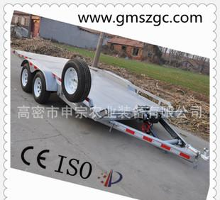 Shen, specializing in the production of automobile traction Trailer Trailer 2-3T double linkage large Congyou