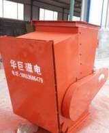 管道式永磁除铁器 从粉状物料中自动连续除去块状铁杂质磁选设备;