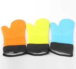 Install special microwave oven high temperature oven gloves, insulated gloves burn proof gloves - single loaded silicone material