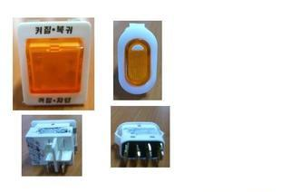 The supply of high quality certification KC overload switch, rocker switch, rocker switch, rocker switch