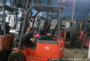 二手手电动叉车丶电瓶叉车1.5吨2吨2.5吨 合力二手叉车 物流设备;
