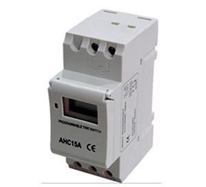 AHC15A工业定时器 导轨安装计时器 时空开关;