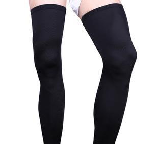 厂家直销 专业足球篮球护腿 防滑透气运动护腿裤袜 加长护小腿套