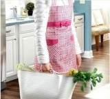 3003 大号手提式购物篮 加厚软质塑料篮 厨房蔬菜收纳篮;