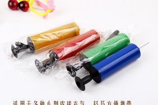 小型迷你手推打气筒 多功能带针打气泵 打气球充气玩具工具G8007;