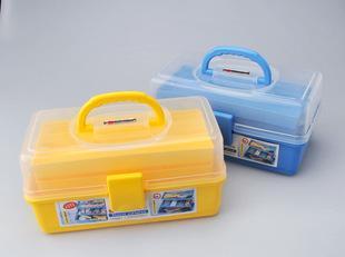 振兴CH8861三层工具箱螺丝刀车载多用箱美术用品加厚收纳箱批发;