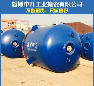 化工设备配件 搪玻璃罐反应罐 搪瓷反应釜 搪玻璃储罐 可加工定制;