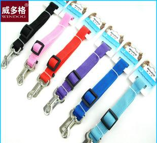 Pet pet dog traction vehicle safety belt safety belt factory sewing process of high quality