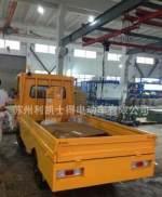 電動運輸車,電動平板貨車,純蘇錫常3噸電動搬運平板車交付使用