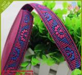 現貨定做提花帶好貨源花色歐標服飾服裝織帶產業用家紡廠家直銷;