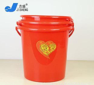 【吉盛塑料】各种塑料制品家用提水桶家居强力桶喜事桶双喜桶;