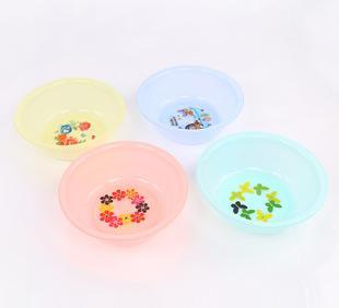 【厂家直销】36CM塑料盆家用脸盆 洗手洗菜盆 可加印LOGO广告盆;