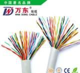 大对数 室内通信电缆HYV16*2*0.5 大对数 电话线 万东线缆 厂家;