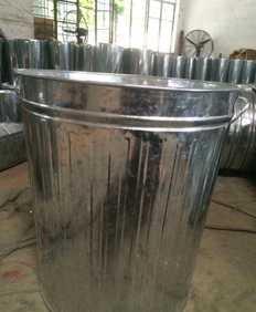 [厂家直销]公共环卫设施 户外环卫设施 铁制垃圾桶;