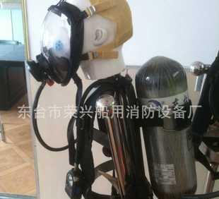 空気呼吸器、呼吸器、消防器材、炭素繊維のガスボンベ
