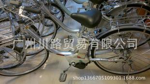 日本进口二手原装8成新助力车/原装锂电池/自行车/单车;
