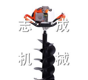 ポータブル植穴掘機、携帯型ガソリン螺旋にリグ硬質土地を坑専用機