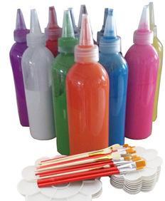 [] السيراميك رسمت ورسمت على الجدران صبغ الجبس خاصة 200 جرام / زجاجة غير سامة وصديقة للبيئة استخدام تأثير جيد