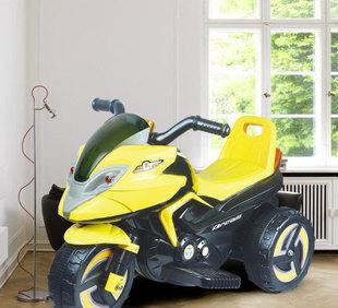 锋达 优贝宝 儿童电动三轮摩托车 时尚灯光音乐宝宝仿真童车