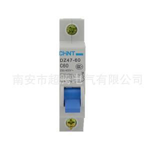 утечка Tripper оптовой Чжэн прямых производителей DZ47-60 1р 60a выключатель