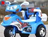 儿童电动三轮四轮摩托车 带???音乐 可坐卡通玩具电动车批发;