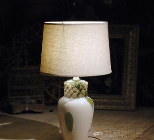 福丽特工厂外单直销陶制饰品 设计师陶瓷工作灯 装饰床头灯;