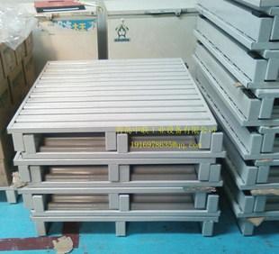 钢制托盘青岛厂家供应铁托盘重型货架电动叉车物流辅助器材;