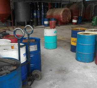 废柴油、废机油、废液压油、废润滑油回收;