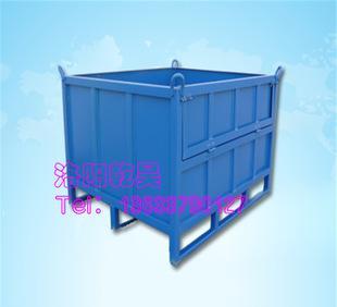 定制周转箱 钢制料箱 集装整理设备 折叠铁制周转箱