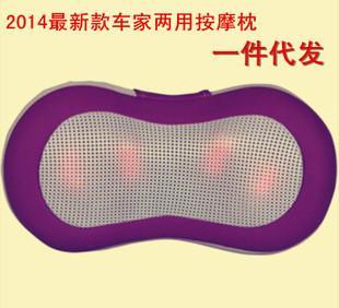 Vehicle cervical vertebra massage instrument massage pillow neck waist massage massage cushion wholesale car infrared heating
