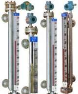 厂家直销高粘度介质大浮子无护管型磁性翻柱液位计 测量液位面板;
