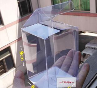 6*6*9 transparent plastic box candy box gift box PVC plastic packing box Feng quality win