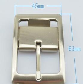 厂家供应箱包服饰五金,30mm自动夹皮带扣头格,编号Y1244;