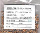 独石电容厂家供应小功率珠状径向独石电容器;