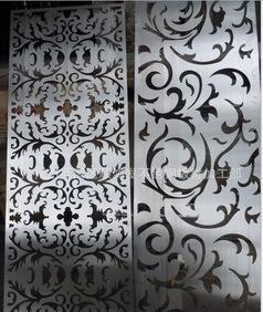 激光切割加工 不锈钢不锈钢新型艺术屏风 酒店企业镂空饰品 推广;