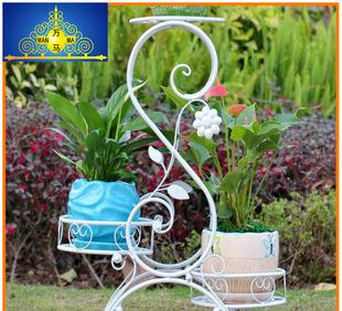الجملة زهرة الحديد المطاوع في الهواء الطلق حديقة زهرة زهرة الحديد المطاوع سلة زهرة