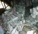 厂家直销各种废铝 电缆皮废铝 多种废电缆材料 加工品批发;