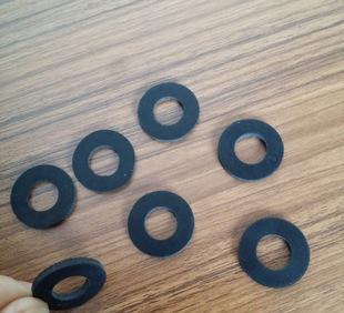 厂家直销橡胶垫片 防震 防滑橡胶垫 密封圈 黑色圆形橡胶垫片;