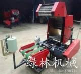 供应专业农业机械 秸秆打捆包膜一体机 场上作业打捆包膜机;